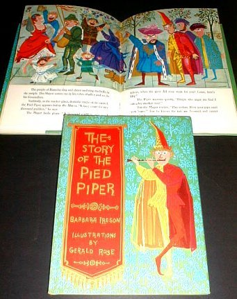 THE STORY OF THE PIED PIPER 1961 Barnes near MINT