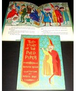 THE STORY OF THE PIED PIPER 1961 Barnes near MINT - $9.98
