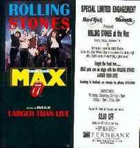 Rolling Stones IMAX Handbill 1994 Atlanta, GA - $4.98