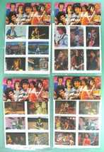 ROLLING STONES 1983 Set of 24 Puffy Stickers near MINT - $6.98