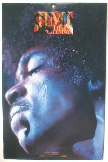 Primary image for JIMI HENDRIX 1992 Photo Calendar near MINT Sealed