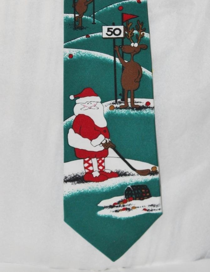 Hallmark Christmas Neck Tie NEW