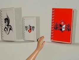 Barbie doll Rebelde set of notebooks folded cardboard accessory Mia Lupi... - $5.99