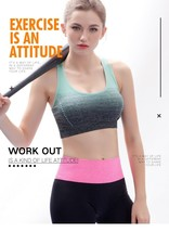 Sports Bra High Stretch Breathable Top Fitness Women Padded for Running ... - $9.99