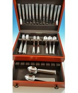 Unused  Bernadotte Stainless Steel Set by Georg Jensen Service for 12   - $1,550.00