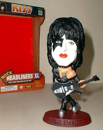 KISS PAUL STANLEY DOLL HEADLINERS XL Boxed