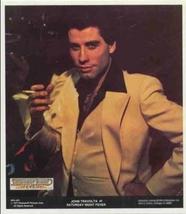 JOHN TRAVOLTA SATURDAY NIGHT FEVER 1977 Poster Put-On - $7.98