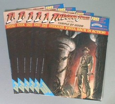 INDIANA JONES 1984 LOT OF 6 POSTER GIVEAWAY BOOKLETS - $16.98