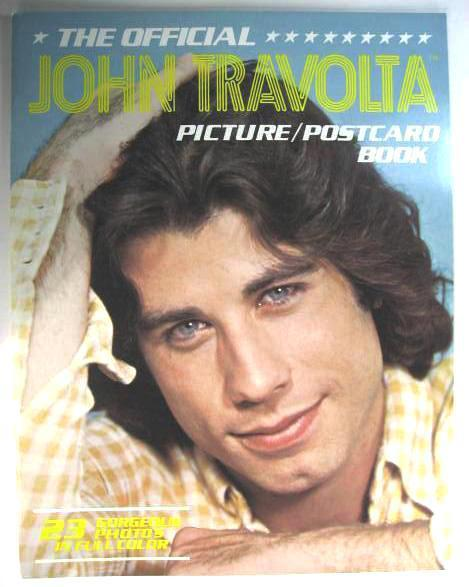 John Travolta 1978 Picture Postcard Book 23 ColorPhotos