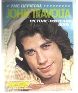 John Travolta 1978 Picture Postcard Book 23 ColorPhotos - $9.98