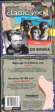 The Police Bryan Adams Kelloggs CD Premium