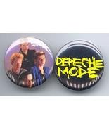 DEPECHE MODE Pinback Buttons Pins Badges 2 Different - $9.98