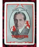 THURSTON Magic Throw Out Card 1930's - $14.98