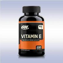 OPTIMUM NUTRITION | VITAMIN E 400 IU | High Potency Immune Support | 200... - $14.80