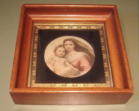 Art  madonna framed 1