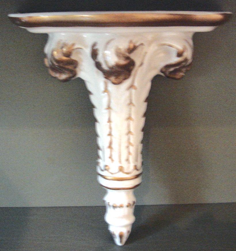 Sconce porcelain  front