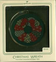 1983 - New in Box - Hallmark Christmas Keepsake Ornament - Christmas Wreath - $2.96