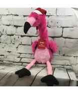 "Dan Dee Pink Animated Flamingo Singing ""Macarena"" Christmas Holiday Plush - $24.74"