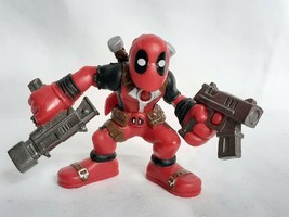 MARVEL Super Hero Squad DEADPOOL with Guns Hasbro 2010 Merc with the Mouth - $17.10