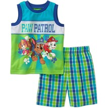 Paw Patrol Toddler Boys Graphic Tank Top and Shorts Outfit Size 4T NWT - $9.79