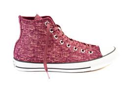 Converse Damen CTAS Sparkle Knit 553412C Turnschuhe Bordeaux Rosa Größe EU 36.5 - $78.71
