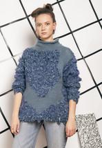 Ugly knit jumper - 80s vintage sweater - $40.36