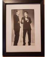 "Elvis and Frank Sinatra Framed photo from Sinatra's 1960 TV Special! 5"" ... - $13.99"