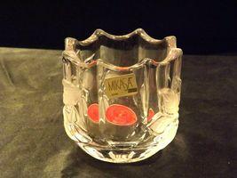 Milkasa Festive Poinsettia Votive Candle Holder AA19-1608 Vintage image 6