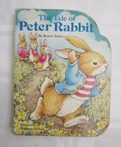 The Tale of Peter Rabbit Beatrice Potter 1986 Childrens Board Book Illus... - $8.08