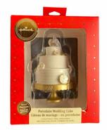 Marriage Porcelain Wedding Cake 2020 Premium Hallmark Ornament, New in Box - $19.99