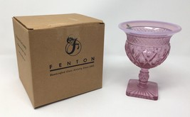 Fenton Blush Rose Pink Comport / Goblet / Cup - New With Tags! #4337 PF - $59.50