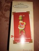 Hallmark 2002 Dr Seuss How The Grinch Stole Christmas Change Of Heart + Orig Box - $14.95