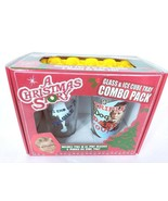 A Christmas Story Glass and Ice Cube Tray Combo Pack Brand New - $19.41