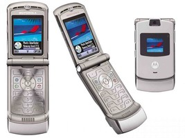 2018 ORIGINAL Motorola V3 Razr Silver 100% UNLOCKED Mobile Phone WARRANT... - $39.45