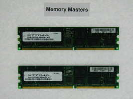 X7704A 2GB Approved 2x1GB 184pin PC2700 ECC Reg DDR Mémoire Kit Pour Sun Fire