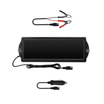 Solar Powered Car Auto Boat Motorcycle 12V Battery Maintainer Trickle Ch... - €17,09 EUR
