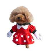 Dog Micky Mouse Costume Pet Minnie Costume Desneyland Costume Halloween ... - $14.99+