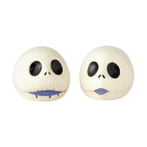 The Nightmare Before Christmas Jacks Heads Ceramic Salt & Pepper Shakers... - $24.18