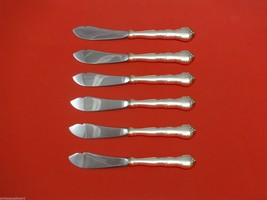"Mignonette by Lunt Sterling Silver Trout Knife Set 6pc. HHWS  Custom Made 7 1/2"" - $366.80"