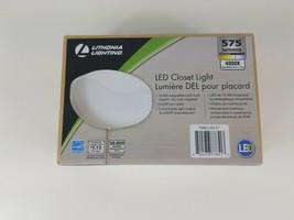 Lithonia Lighting 10-Watt Integrated LED Flush Mount Closet Light w/Pull Chain - $23.23
