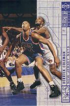 1994-1995 Upper Deck Collector's Choice Card Derick Coleman #388 Bluepri... - $1.97