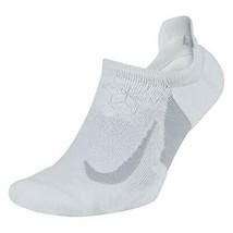 Nike Unisex Cushion No Show Golf Socks White/Wolf Gray 10-11.5 SG0798-100 - $19.99