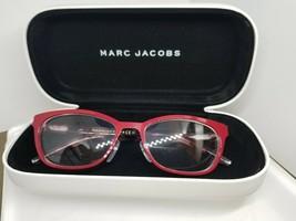 Marc Jacobs Rx Eyeglasses Frames Marc 77  size 52 Pink/Red & Tort - $65.95