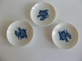 Rosenthal Bjorn Wiinblad Studio Line Blue White Dishes Coasters Salt Wil... - $19.99