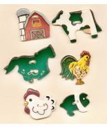 Decorative Handmade Ceramic Button     Farm Series - $12.00