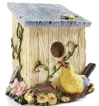 Country Birdhouse Shaped Decorative Trash Bin - $19.95