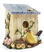 Country Birdhouse Shaped Decorative Trash Bin - $19.95