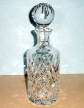 Lenox Irish Spring MacKenna Decanter Crystal Made in Ireland 24oz #85712... - $148.90