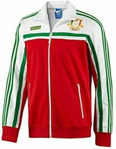 X LARGE adidas Originals Men's MEXICO Firebird Track Top Jacket  White Green Red - $159.88