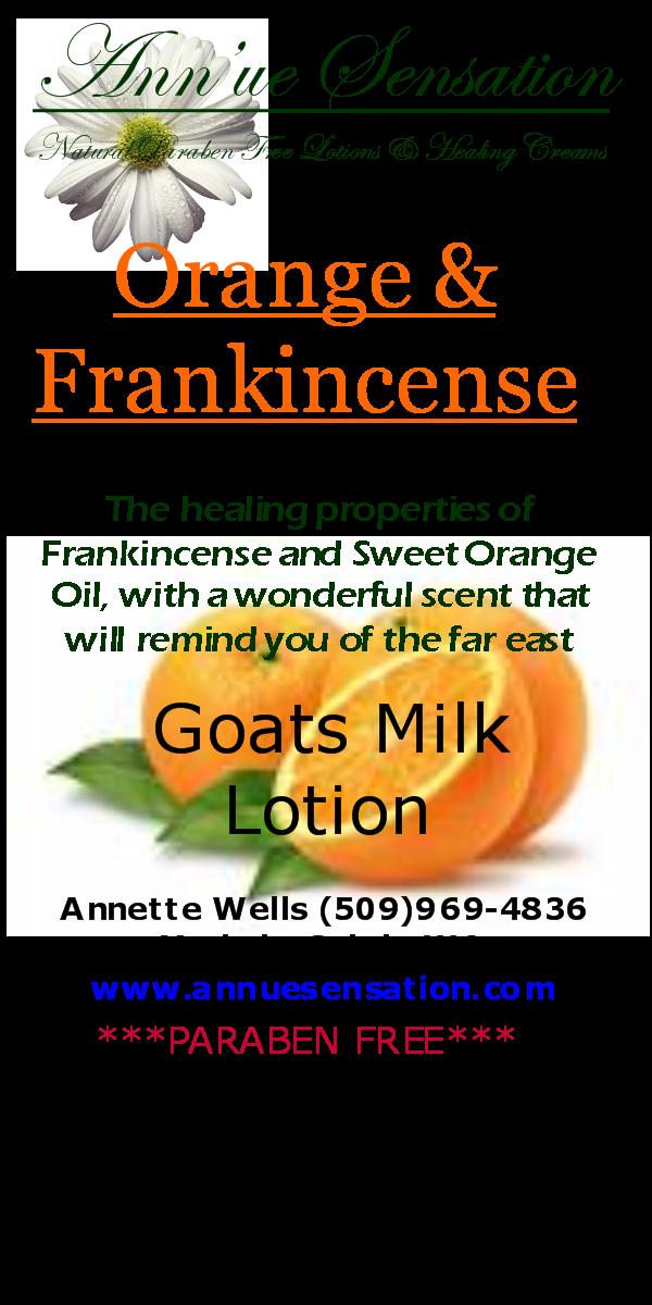 Orange   frankincense